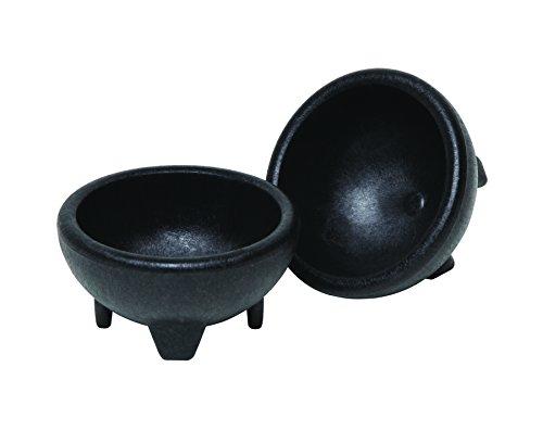 Origins K Salsa Bowl, Set of 2, Black
