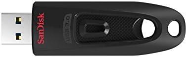 Clé USB 3.0 SanDisk Ultra 128 Go avec une vitesse de lecture allant jusqu'à 130 Mo/s