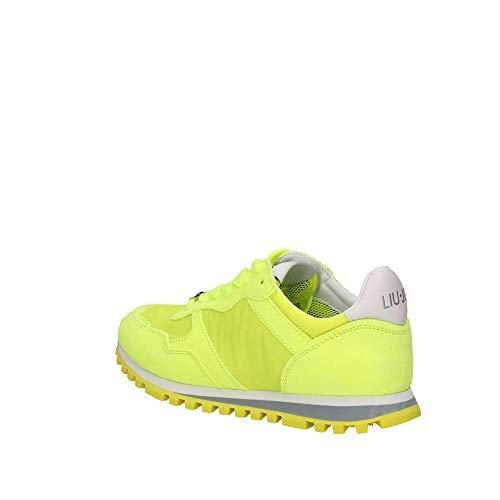 LIU JO Shoes Alexa-Running Fluo, Zapatillas Mujer, Amarillo (Yellow Fluor S14f1), 36 EU