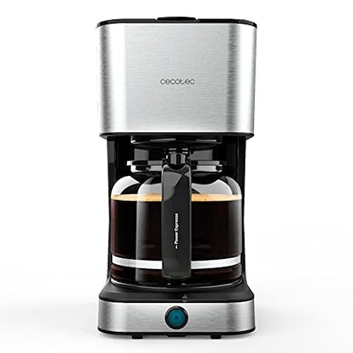 Cecotec Cafetera de Goteo Coffee 66 Heat. 950 W, Tecnología ExtemeAroma, Función Recalentar y Mantener, Jarra...