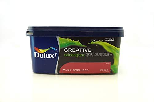 Dulux Creative Wand- und Deckenfarbe seidenglanz 2,5 l (Wilde Orchidee)