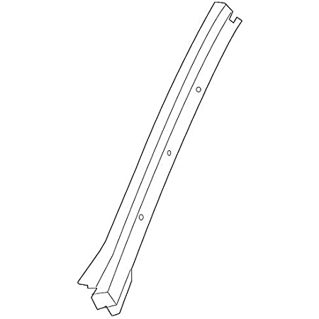 Right Genuine GM 15241118 Windshield Side Reveal Molding