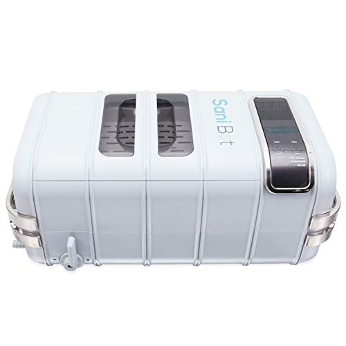 Sani Bot CPAP Mask Sanitizer Cleaning Machine | CPAP Equipment Disinfection | Uses Water and Powerful Cleansing Tablets | Simple, Efficient, and Automated Cleaner (Mint)
