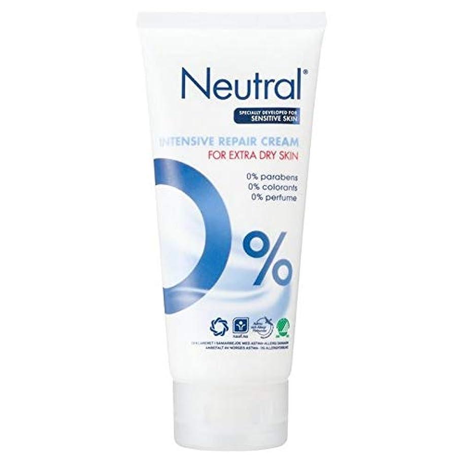 怒りアクロバットクレーン[Neutral ] ニュートラル0%の集中リペアクリーム100ミリリットル - Neutral 0% Intensive Repair Cream 100ml [並行輸入品]