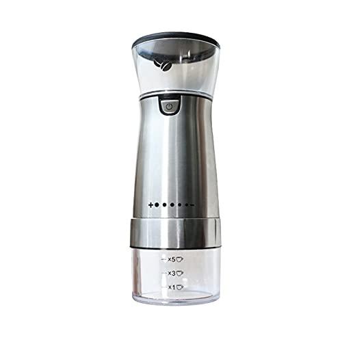 NB Molinillo de café eléctrico, cafetera Burr sin Cable, Molino de Pimienta...