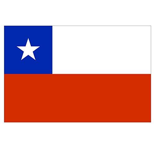 Supstick – Lote de 8 pegatinas de bandera de país de Chil