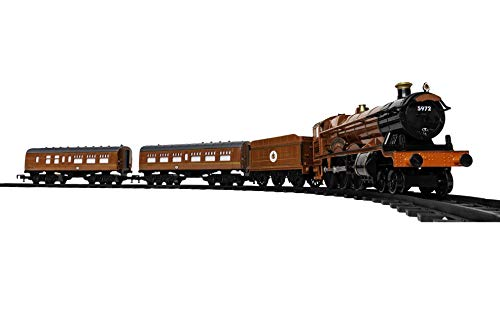Lionel Hogwarts Express Ready-to-Play 4-6-0 Set, Battery-powered Model Train Set with Remote