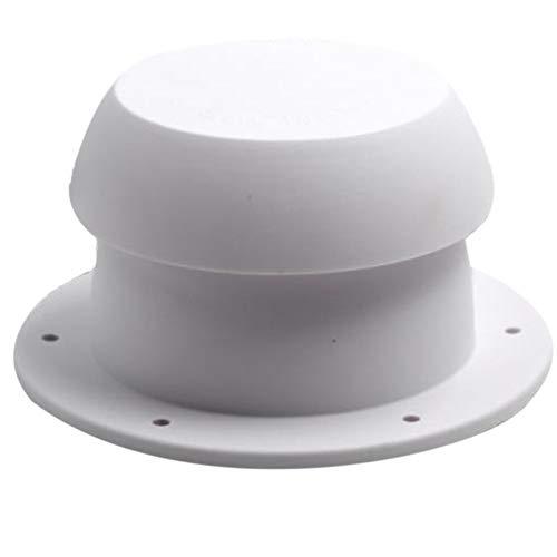 XHXseller Tapón de ventilación para VR, Tapa de ventilación de Techo para Caravana, Autocaravana, Remolque, Salida de Escape Redonda, Ventilador de Aire de Repuesto Universal