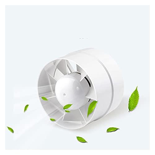 YOUCHOU Ventilador de conducto en línea de 5 Pulgadas, Ventilador Extractor de Aire, Ventilador de Escape con conductos, ventilación de Techo para baño, Inodoro, 125mm 220V