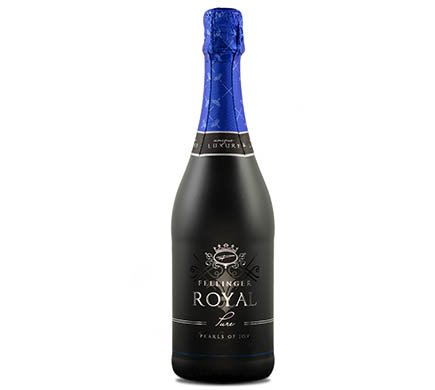 Fellinger ROYAL Pure, 0,75l - 100% alkoholfrei