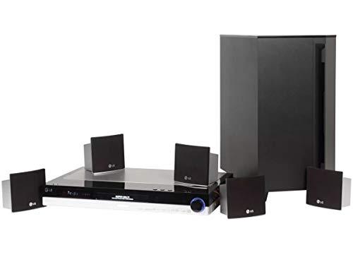 LG LH-RH360SE - Equipo de Home Cinema de 300W (disco duro de 80 GB), negro y plateado (importado)