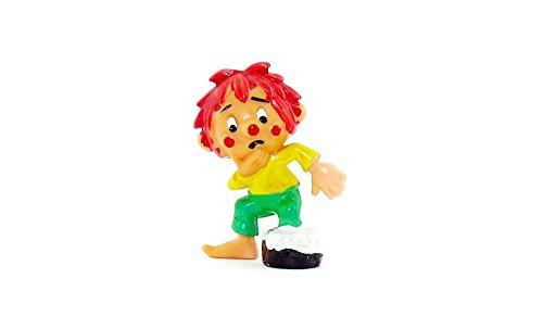 Kinder Überraschung Pumuckl Tollpatsch Variante con bote de pintura marrón