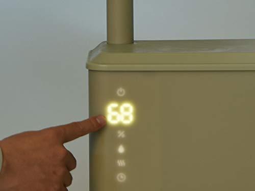 BRUNOブルーノ加湿器アロマ大容量ハイブリッド超音波式UV寝室リビングオシャレCALMMISTブラックBOE062-BK