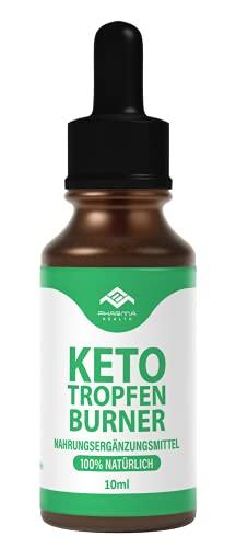 Keto Gotas Burner | Ketogen Drops | Uso rápido & extremadamente & fácil (Lipo) | 10 ml (1)