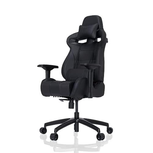 VERTAGEAR Gaming Racing Seat Home Office Ergonomic Computer High Back Executive Chairs, Medium, Black/Carbon