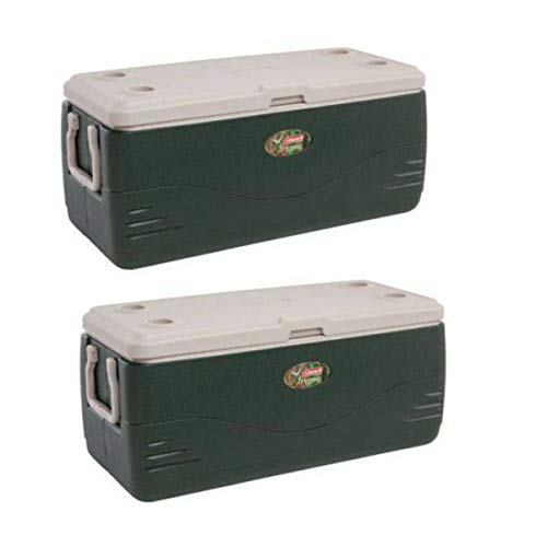 Coleman Xtreme 150 qt Cooler, Green (150 qt. Green - Pack of 2)