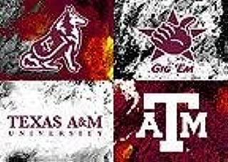 Warhol's Texas A & M Logo - Print - Aggies - Kyle Field - 12th Man