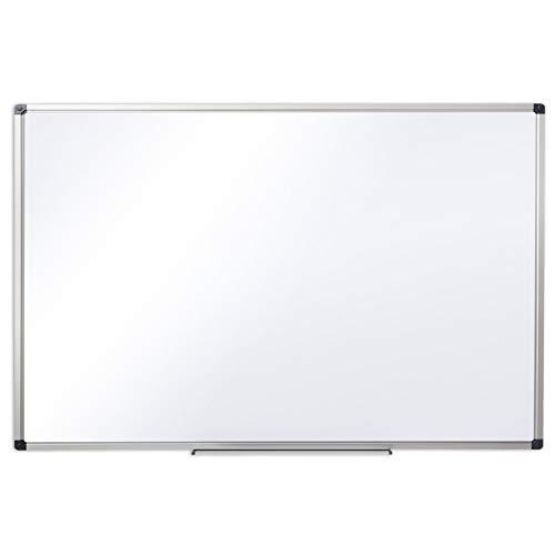 Office Marshal® Profi - Whiteboard | Testsieger, Note 1,3 | magnetisch und beschreibbar | Magnettafel mit schutzlackierter Oberfläche | vertikal und horizontal montierbar | 13 Größen | 80x110 cm
