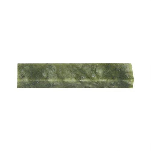 Juego de Piedras para afilar Cuchillos, afilador de Piedras de afilar Naturales Afilador de Cuchillos Herramienta de Pulido de Pulido 100 * 20 * 10mm(Verde 10000#)