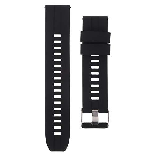 Baluue Compatible para Xiaomi Mibro Air 20Mm Watch Band- Correa de Repuesto de Reloj de Silicona Pulsera Deportiva Ajustable de Liberación Rápida para Hombres Mujeres