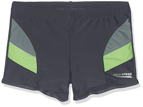 Aqua-Speed – zwembroek voor kinderen, Andy, grijs-groen, maat 134