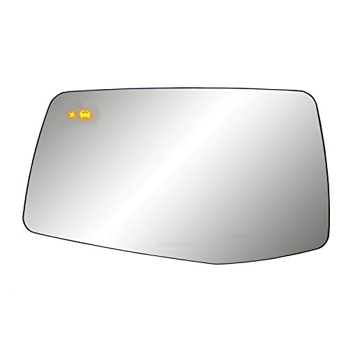 Fit System Heated Repl. Glass for Silverado/Sierra 1500, w/Blind spot detection, LH