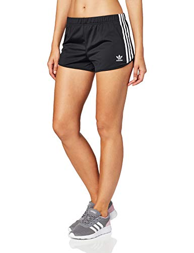adidas 3 Stripes Short, Pantaloncini Donna, Nero, 40