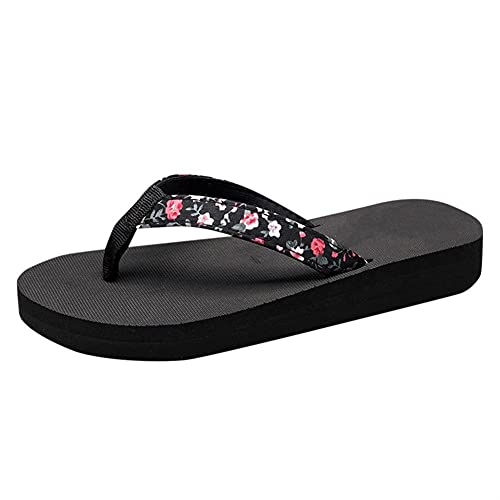 Zapatillas Chanclas De Mujer Calzado De Interior Sandalias De Mujer Zapatillas De Playa (Color : Multicolor, Shoe Size : 36)