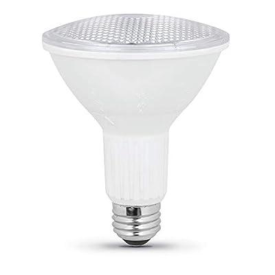 """Feit Electric PAR30L/ADJ/950CA 75W Equivalent 10 Watt Dimmable BeamChoice LED PAR30L PAR30 Long Reflector Bulb, 4.75""""H x 3.75"""" D, 5000K Daylight"""