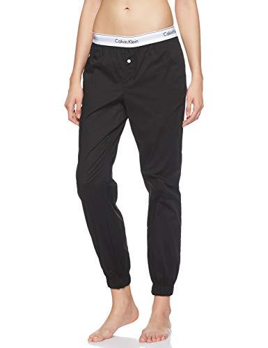 Calvin Klein Damen Jogger Sporthose, Schwarz (Black 001), W(Herstellergröße: S)