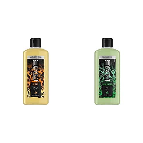 Axe Mood Booster-Set, Duschgel Vibes Vanilla 1 x 200 ml + Duschgel Unplugged Pine 1 x 200 ml