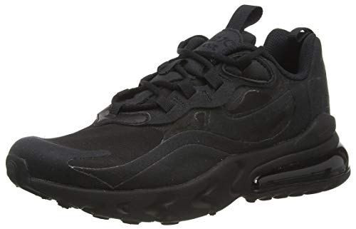 Nike Air Max 270 React Big Kids' Sh, Scarpe da Corsa, Black/Black-Black, 39 EU