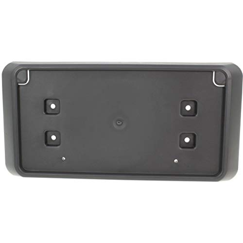 Fitrite Autoparts New Front License Plate Bracket for 2016 Jeep Wrangler, Jk Made of PP Plastic, No Hardware Included 68192045AB CH1068139