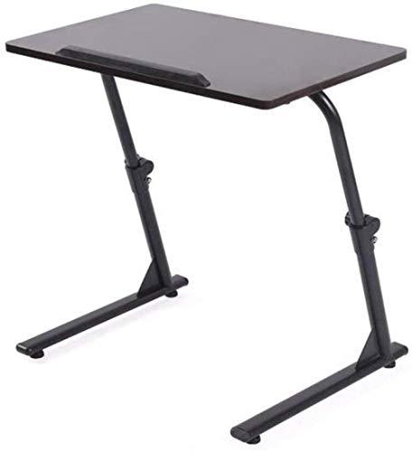 Bord – trä – baspaneler flytta upp och ner hopfällbart sängbord laptop skrivbord inlärningsskrivbord – 60 cm_3