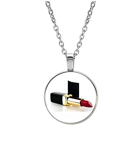 Halskette Glas - Lippenstift