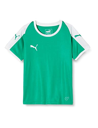 PUMA Kinder LIGA Jersey, Pepper Green White, 140