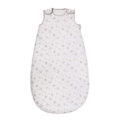 Nuby Saco de dormir para bebés de 6 a 18 meses, diseño de estrellas, 2,5 tog