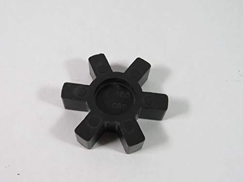 "Dayton L-100/L-099 Jaw Coupling Spider Insert 7/16-1-3/8"" Shaft 0.63"" L"