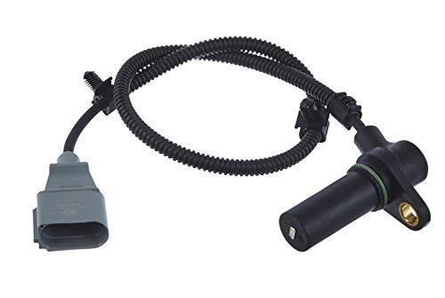 HELLA 6PU 009 167-251 Generador de impulsos, cigüeñal - 3polos - Cable: 530mm