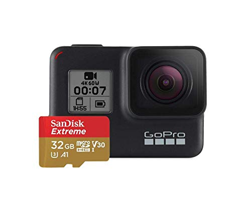 GoPro Black, Telecamera HERO7 Unisex-Adult