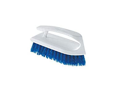 Rubbermaid Heavy Duty All Purpose Scrub Brush for Cleaning Bathroom, Shower, Decks, Floor, Tile, Grout and Concrete