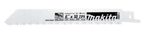 Makita 723080-A-5 6-Inch Prog. All Purpose Recip Blade, 5-Pack