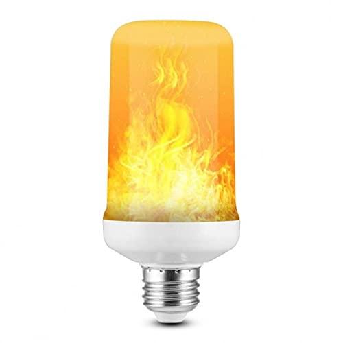 Led A Risparmio Energetico E27 Lampadina A Fiamma Fire 4 Modelli Led Light Dynamic Flame Effect 220V Per Illuminazione Domestica-4 Modalità 12W, E14, E14, 7 Pezzi