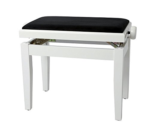 Gewa Piano Kruk Wit hoogglans