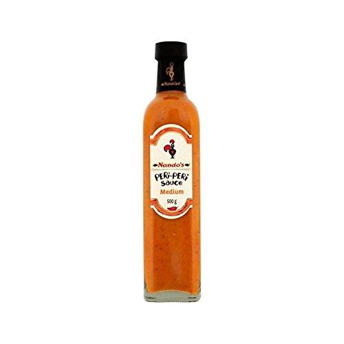 Nandos Peri-Peri Sauce Medium 500G - Packung mit 4