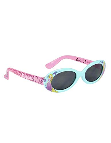 Lunettes de soleil avec étui enfant fille Disney Princesse Raiponce Bleu/rose TU (3-8ans) - Bleu/rose, Taille unique