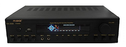RSQ RSQKA3000 300W Professional Multimedia Digital Mixing Amplifier