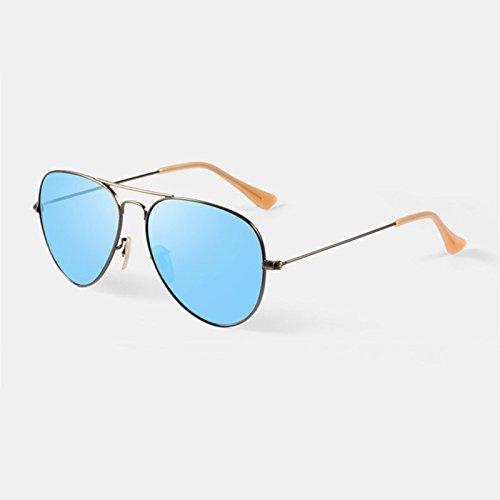 Cielo moderno Gafas Lentes de Cristal Anti Ultravioleta Gafas de Sol Diseño...