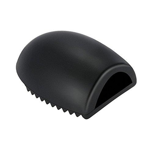 Demarkt Brosse Maquillage Nettoyage Outil Gant Nettoyage en Silicone Pinceau de Nettoyage Noir 1PC