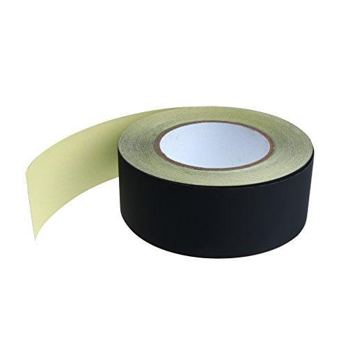 1 Rolle Azetatband leitfähig Kupferfolie Klebebänder hitzefest Klebeband Elektroisolierung Klebebänder Abdeckklebeband Klebstreifen - Schwarz - 50mm